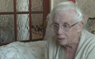 87-year-old woman stuck in the bath for four days