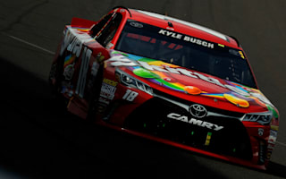 Kyle Busch finishes historic weekend with win at the Brickyard