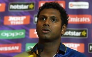 Fearless Sri Lanka ready for England test - Mathews