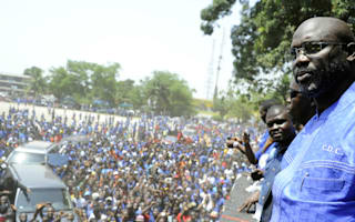 Weah to run for president of Liberia