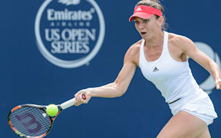Halep ousts Kerber in topsy-turvy Montreal semi