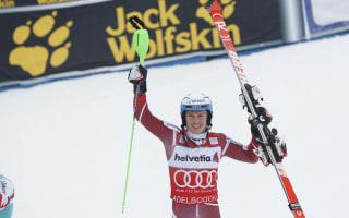Kristoffersen extends slalom lead in Abeldoden