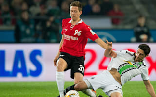 Hannover 2 Borussia Monchengladbach 0: Huge blow to visitors' top-four hopes