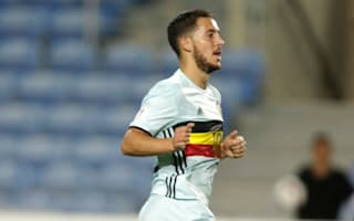 Courtois 'angry' with showboating Hazard in Belgium rout