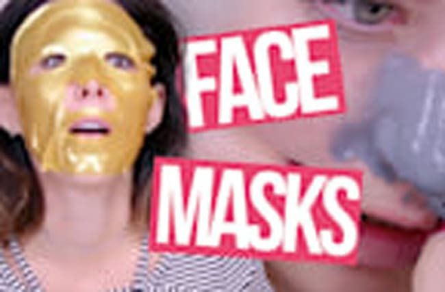 4 FREAKY FACE MASKS (Beauty Break)