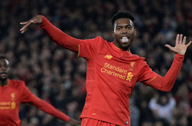 Liverpool 2 Tottenham 1: Sturridge at the double to book quarter-final spot
