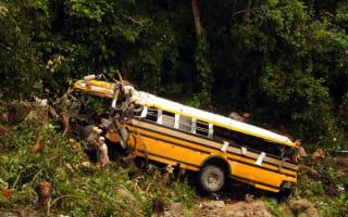 Honduras bus crash leaves 14 dead and 55 injured