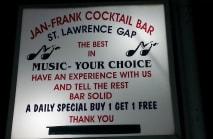 Jan and Franks Cocktail Bar