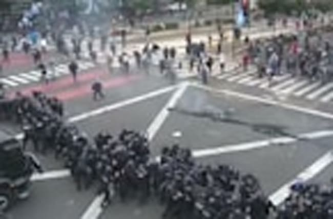 Violence in Argentina as anger over the economy boils over