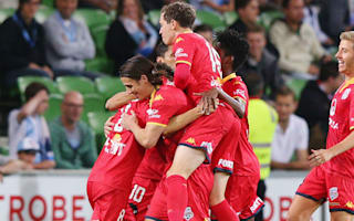 Melbourne City 0 Adelaide United 2: Reds close in on Premiers' Plate