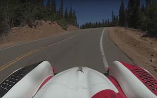 Watch incredible footage of winning 2016 Pikes Peak run