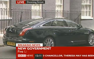 Cameron gets a new Jag to go with the new job