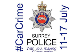 Surrey police turn to Twitter to catch car criminals