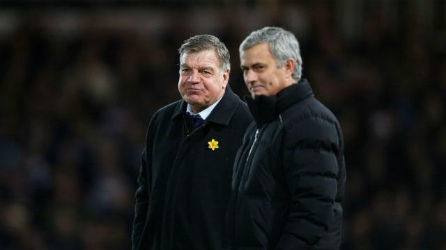 It would happen overseas - Allardyce backs Mourinho's Premier League gripe