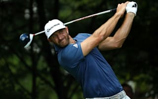 Johnson recovers from shaky start to win BMW Championship