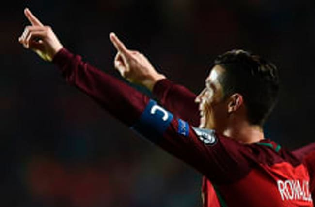 Ronaldo magic keeps up winning run for Portugal