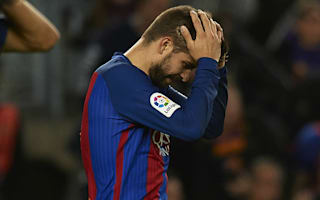Pique refuses to blame absence of Messi and Suarez for Barca draw