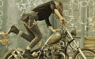 Injured artist overwhelmed, as bikers raise thousands of pounds for her