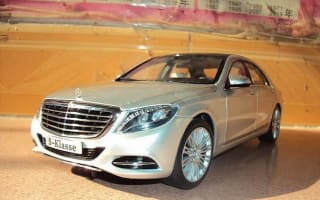 Upcoming Mercedes S-Class leaked in miniature model form