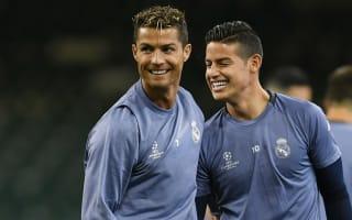 Ronaldo, James must have final say on Real Madrid futures - Valderrama