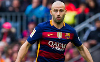 Juventus concede defeat in Mascherano pursuit