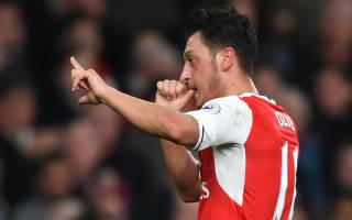 Ozil is back - Wenger hails Arsenal star after he torments West Ham again