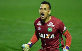 Chapecoense goalkeeper Danilo named 'Craque da Galera'