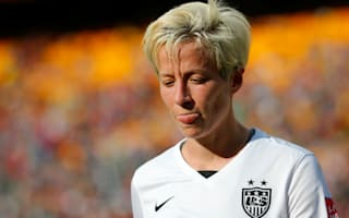 Rapinoe takes anthem protest to international stage