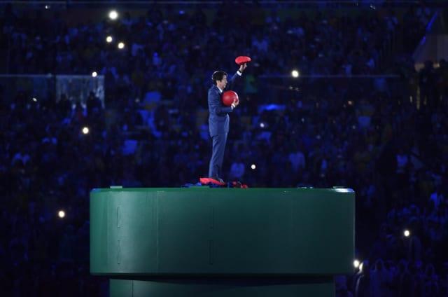 Mario recoge el testigo de los Juegos de Tokio 2020