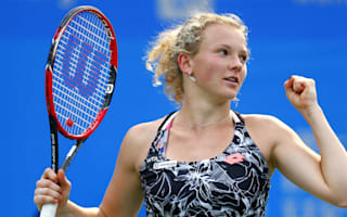 Siniakova upsets Konta to set up Riske final