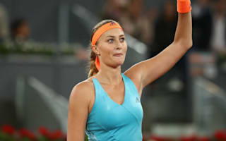 Mladenovic earns Halep final in Madrid
