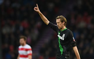 Doncaster Rovers 1 Stoke City 2: Crouch and Walters take Hughes' men through