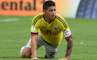 James out of Uruguay clash