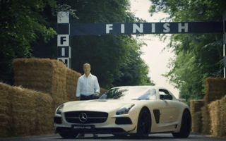 Take a tour of the Goodwood hill climb with David Coulthard