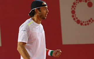 Lorenzi becomes oldest first-time champion on ATP Tour