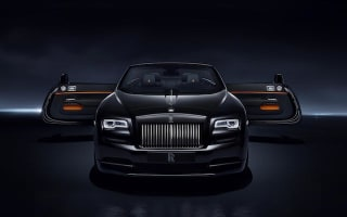 Rolls-Royce unveils Black Badge Dawn
