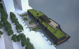 London's new floating hotel is luxury accommodation with a cause