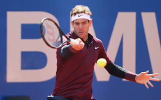 Del Potro triumphant on clay return, Monfils withdraws
