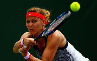 Safarova to meet Pliskova in all-Czech Prague semi-final