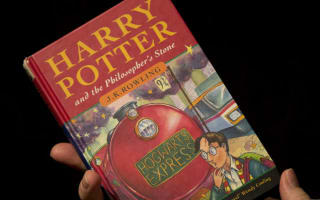 Why did Harry Potter book sell for £43,750?