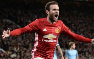 Manchester United 1 Manchester City 0: Mata extends Guardiola's winless run
