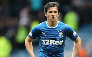 Barton suspended by Rangers