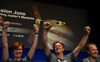 Mission accomplished as Juno arrives in orbit around Jupiter