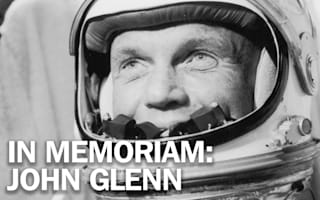 Pioneering astronaut John Glenn has died, aged 95