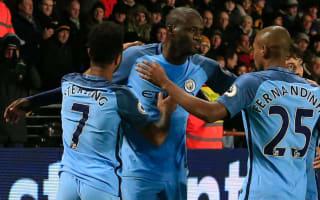 Hull City 0 Manchester City 3: Toure, Iheanacho help see off battling bottom club