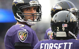 Ravens QB Flacco out for the year