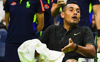 US Open exit 'f****** sucks' for Kyrgios, with McEnroe critical