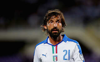 Ancelotti: Pirlo does not fit Italy's pressing games