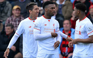 AFC Bournemouth 1 Liverpool 2: Firmino, Sturridge end memorable week on high
