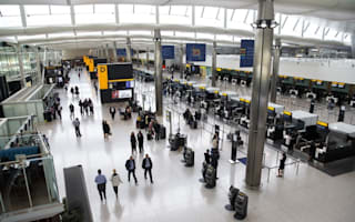 American security official lets man with gun board flight to London